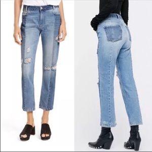 Free People Jeans - Free people denim jeans like new